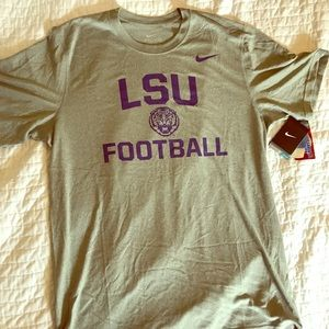Nike LSU TIGERS FOOTBALL DRI-FIT TEE